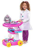 Тележка Барби набор доктора уход за животными Barbie Pet Care Cart