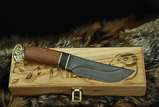 """Эксклюзивный нож ручной работы """"Ibex-1"""", дамасск, фото 2"""