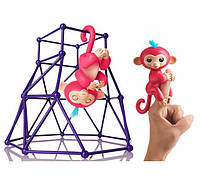 Набор Fingerlings - Jungle Gym Playset Interactive Baby Monkey Aimee