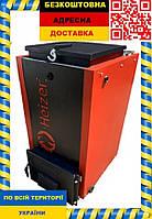 Шахтный котел длительного горения Heizer - 10 кВт