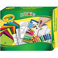 Набор для творчества Crayola Забавная мозаика с фломастерами