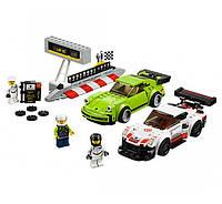 Lego Speed Champions Porsche 911 RSR и 911 Turbo 3. 0 75888
