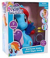My Little Pony Rainbow Dash Styling Pony Рейнбоу деш с аксессуарами