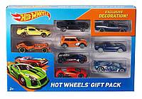 Hot wheels хот вилс  набор из 9 базовых машинок 9-Car Gift Pack