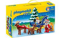 Playmobil 6787 Санта с санками. Рождественский набор