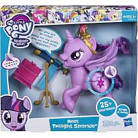 Говорящая пони Твайлайт Спаркл Искорка My Little Pony Meet Twilight Sparkle