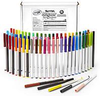 Crayola Набор 80 смываемых фломастеров Super Tips Washable Markers 80 Count