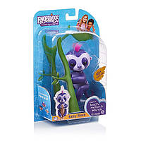 Интерактивный ленивец фиолетовый Fingerlings WowWee Baby Sloth Marge Purple Interactive