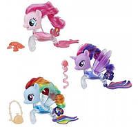 My Little Pony  Pinkie Raindow Twilight  Flip Flow Seapony Figure  Жидкость Пинки Рейнбоу Твалайт
