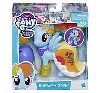 Пони-модница My Little Pony Радуга с аксессуарами 15см Рейнбов Дэш