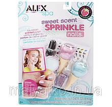 Набір лаків і наклейок для нігтів ALEX Toys Spa Sweet Scent Sprinkle