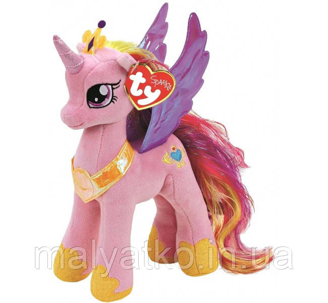 Май Литтл Пони Принцесса Каденс Мягкая Игрушка TY Cadance ...