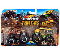 Набор внедорожников  Hot Wheels Monster Jam FYJ69 Hotweiler vs Hound Hauler