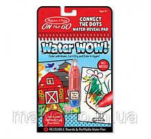 Чарівна розмальовка On the Go водна багаторазова Melіssa & Doug Water Wow