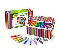 Смываемые мини маркеры 64 цвета Crayola Pip-Squeaks Kids Marker Collection