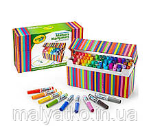 Змиваються міні маркери 64 кольори Crayola Pip-Squeaks Kids Market Collection