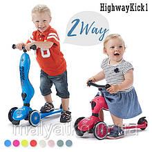 Самокат-беговел Highwaykick-1 Scoot and Ride, кольори в асортименті
