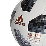 Мяч футбольный ADIDAS TELSTAR 18 WORLD CUP OMB CE8083 (размер 5), фото 3