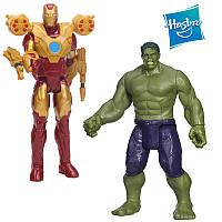 """Набор 2в1 супергероев Железный Человек и Халк из к/ф """"Мстители"""", 30см - Iron Man, Hulk, Avengers, Hasbro"""