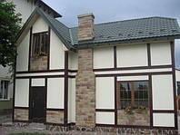 """Строительство домов в Евпатории. """"Баварский дом"""" 120 кв. м."""