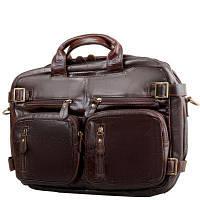 Сумка-рюкзак ETERNO Кожаная мужская сумка-рюкзак ETERNO (ЭТЭРНО) RB-7061C