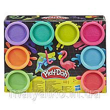 Набір пластиліну Play-doh Неон 8 баночок 448 грам E5063 E5044