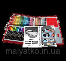 Набір для творчості у валізі 62 предмета Crayola Virtual Design Pro-Cars Set