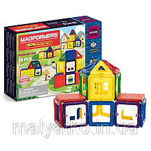 Конструктор магнітний Магформерс Будинок Magformers Wow House Set 28