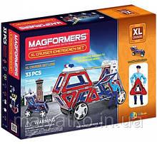 Магнітний конструктор Magformers Крейсери XL, Рятувальники, 33 елемента