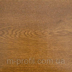 Профнастил ПС-8 золотой дуб , толщина 0,35мм