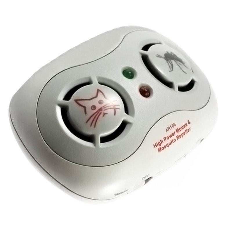 Отпугиватель ультразвуковой мышей и комаров AR166B