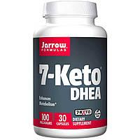 7-Кето потеря веса  DHEA  Jarrow Formulas 100 мг 30 капсул