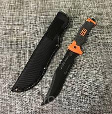 Нож тесак с чехлом Gerber 3015A для охоты и рыбалки, фото 3