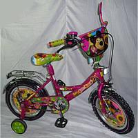 """Детский велосипед Mustang Маша и Медведь 14"""""""