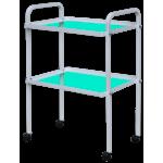 Столик инструментальный СИ-5 (стекло), стол инструментальный медицинский