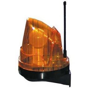 Сигнальна лампа з антеною