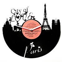 Часы настенные Париж Город Любви