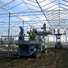 Проектирование и строительство зимних садов и оранжерей