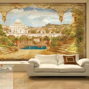 декоративные фрески