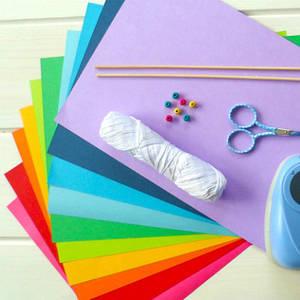 папір кольоровий і картон