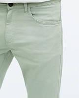 Мужские брюки штаны зеленые Zara размер 44