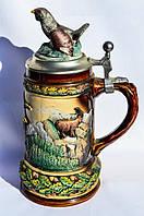 Шикарная коллекционная Пивная кружка,бокал! Германия,сер.ХХ РЕДКАЯ!!!