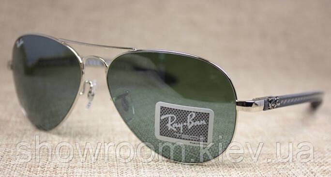 Женские солнцезащитные очки в стиле RAY BAN aviator 8307-003 carbon LUX