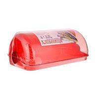 Хлібниця Галицька міні 01 червоний 30*23*16см