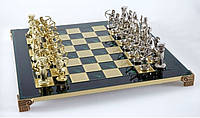 Шахматы Manopoulos 670011 44х44 см бронзовые