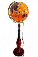 Глобус с подсветкой напольный 420 мм барокко парусники (рус.) BST 540168