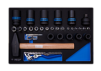Набор инструмента комбинированный 30 предметов  (EVA ложемент)
