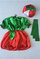 Детский карнавальный костюм Bonita Яблоко №2 95 - 110 см Красный