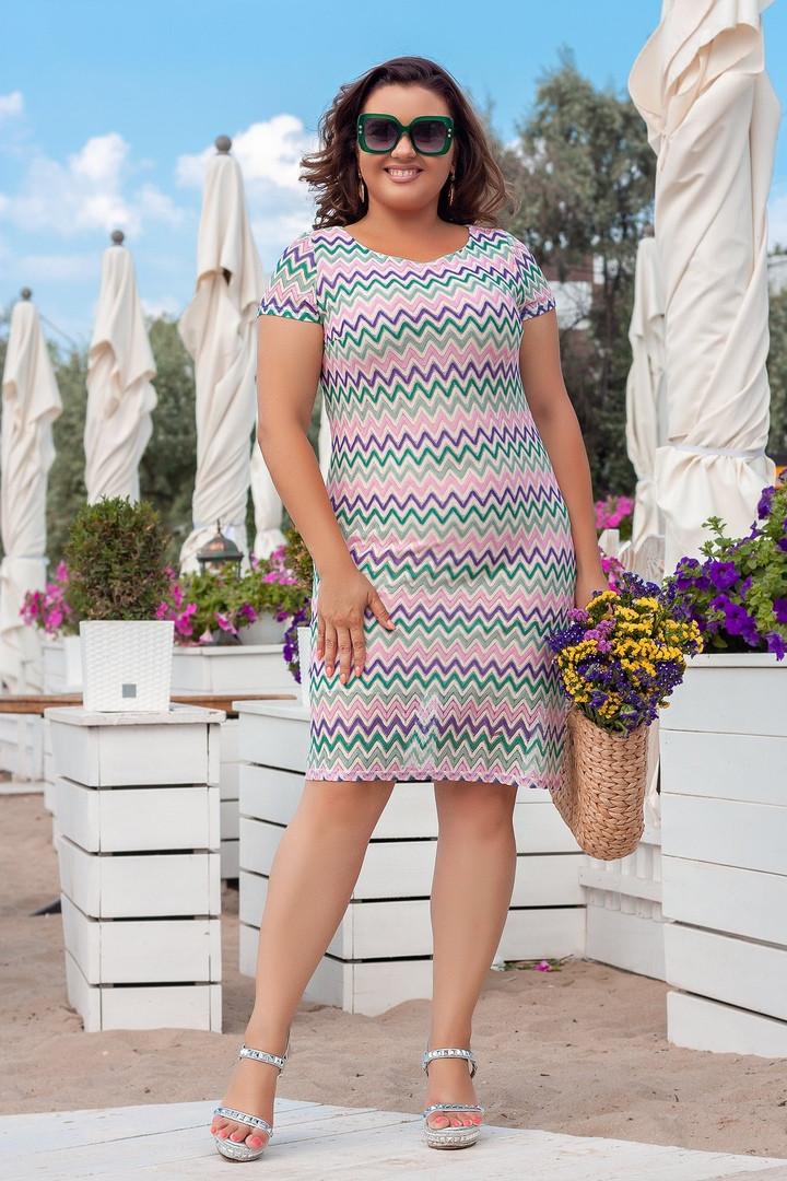 Гипюровое платье больших размеров 48-62, две расцветки
