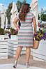 Гипюровое платье больших размеров 48-62, две расцветки, фото 3